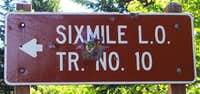 Six Mile Trailhead