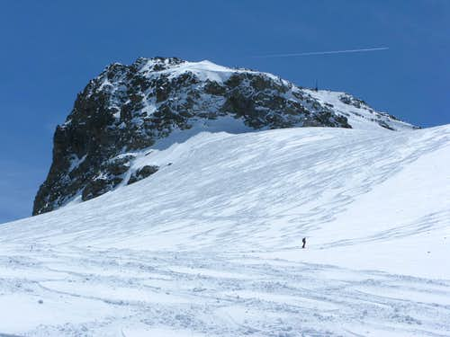 Jamspitze with glacier