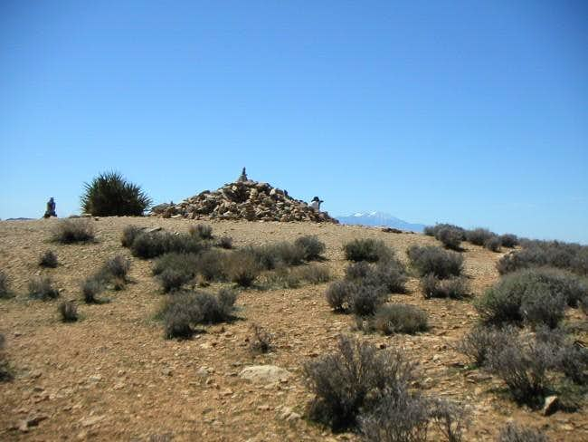 The Ryan mountain summit...