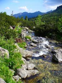 Ascending Javorova valley