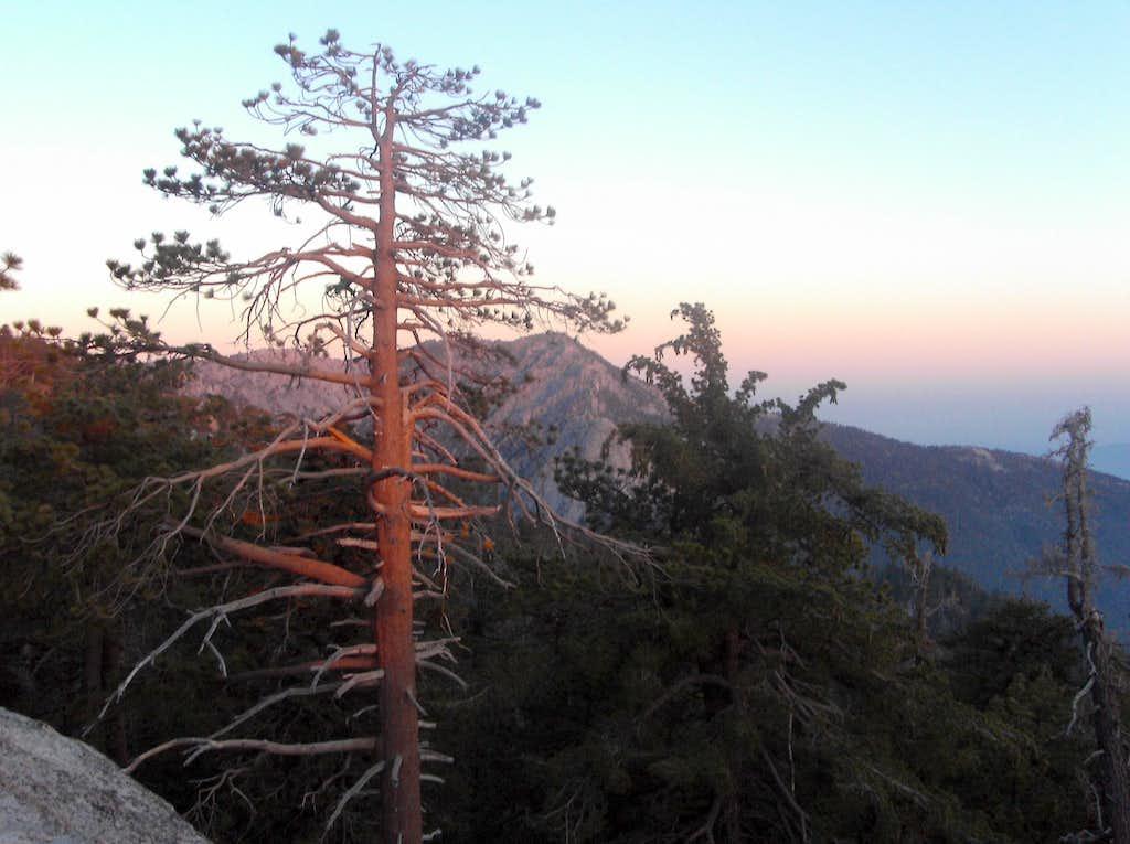 Tahquitz Rock and Peak