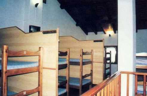 Dormitorio at Refugio Lucien Briet