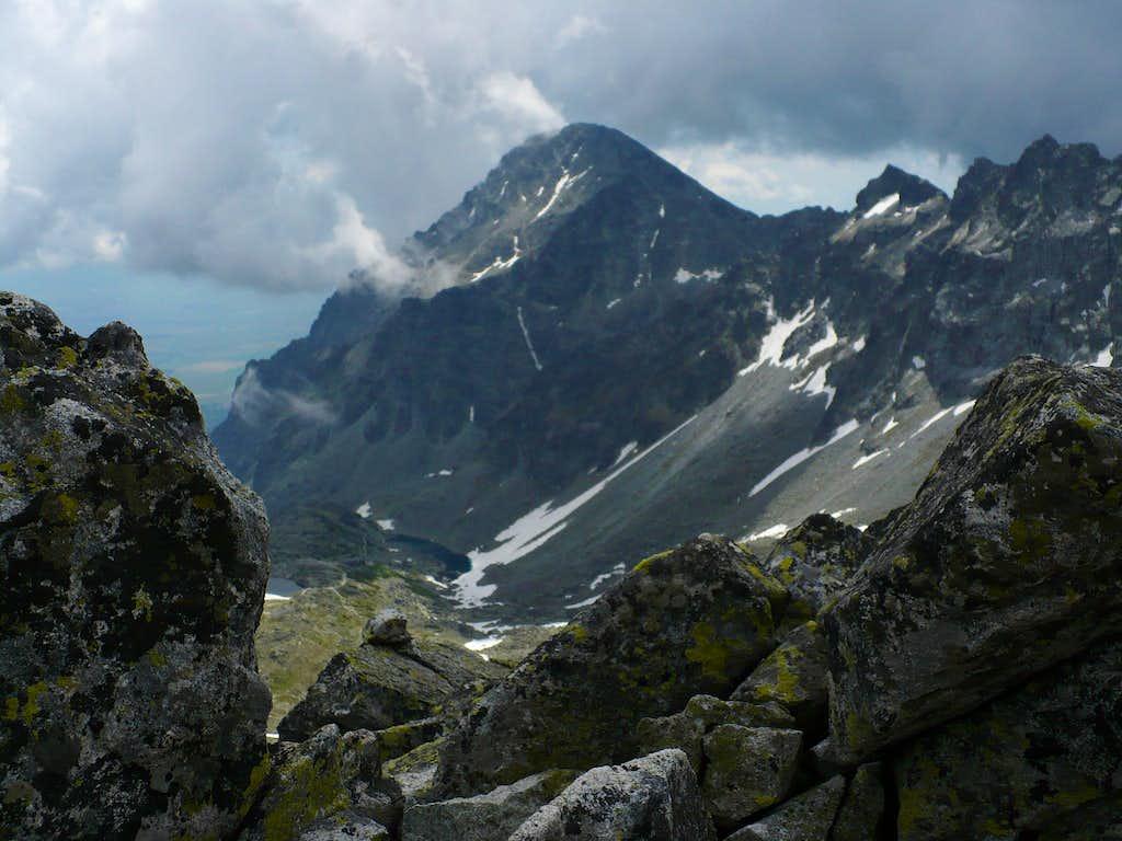 rainy mood on Slavkovský štít (2452 m)