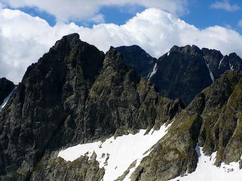 Východná Vysoká (2428 m) proudly presenting its E wall