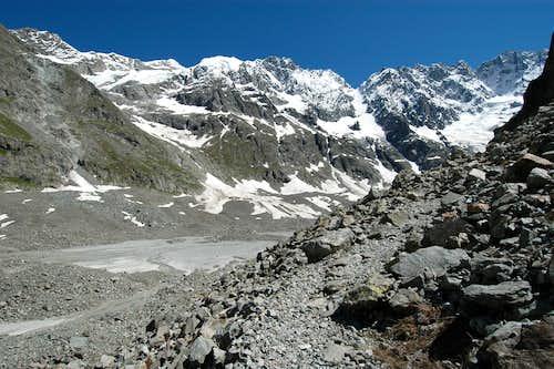 Glacier de la Plate des Agneaux