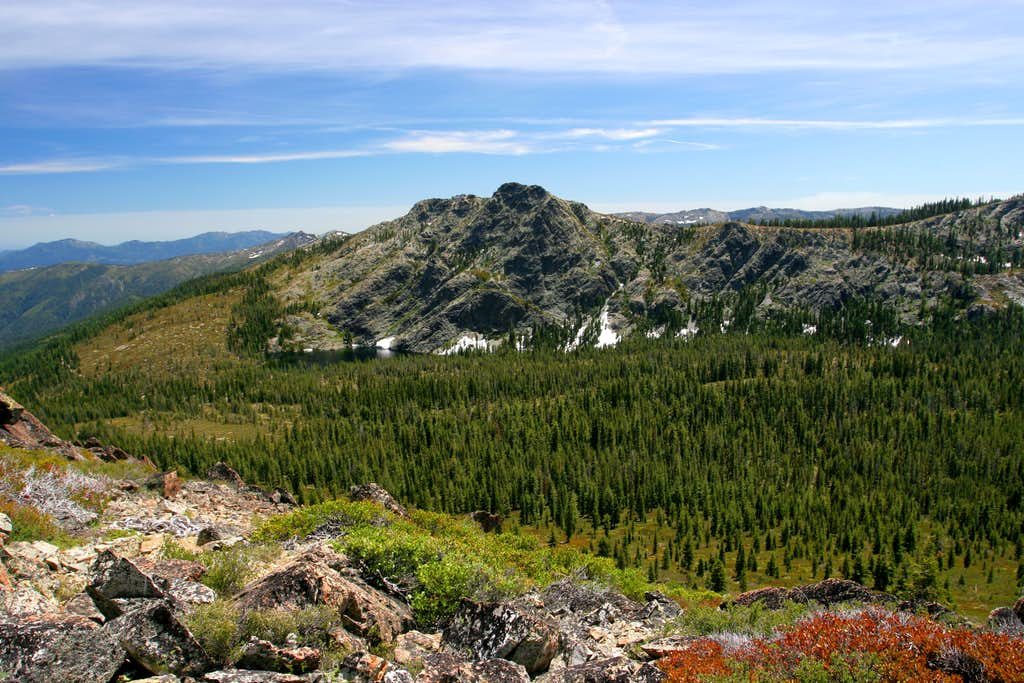 Boulder Peak (Trinity Divide)