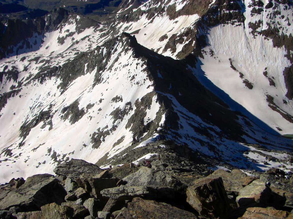 Emilius ridge