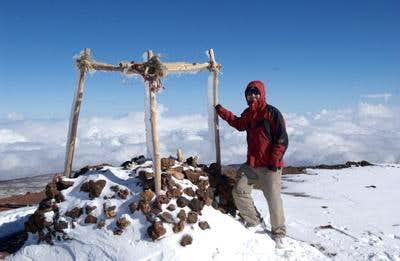 On the summit of Mauna Kea...