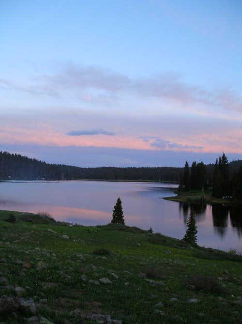 Camping on the Grand Mesa