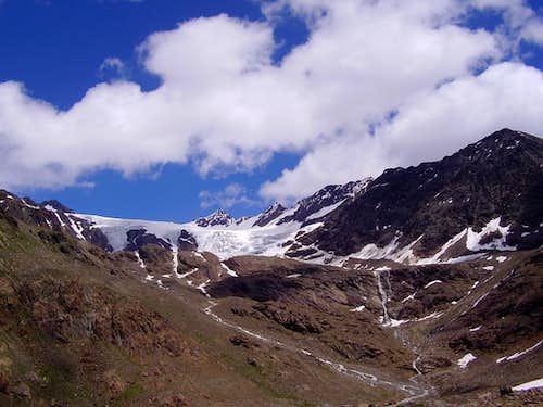 San Matteo and Dosegù Glacier