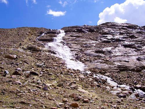 Waterfall in Pian Bormino