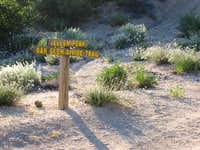 Trail Sign on Yucaipa Ridge