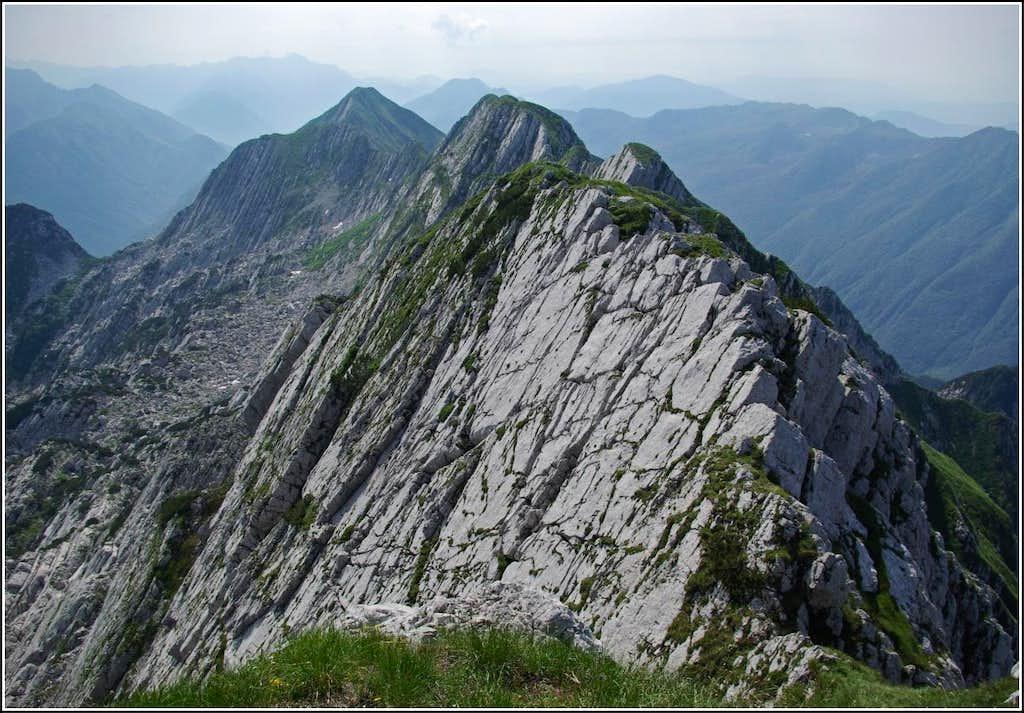 Monte Musi ( East summit ) - Summit views