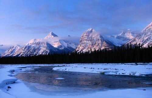 Dawn in the Rockies