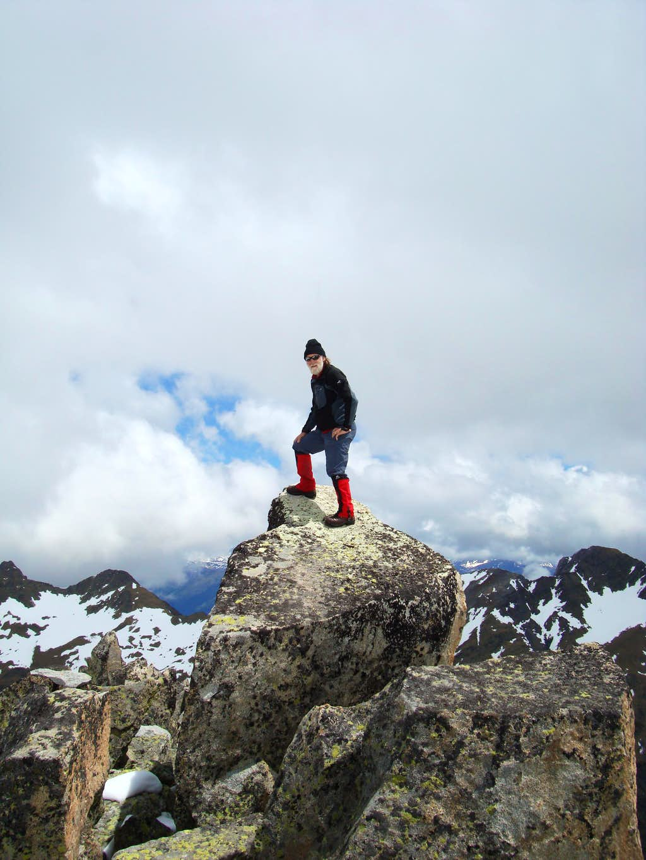 Summit of Pico de la Renclusa - 2700 metres