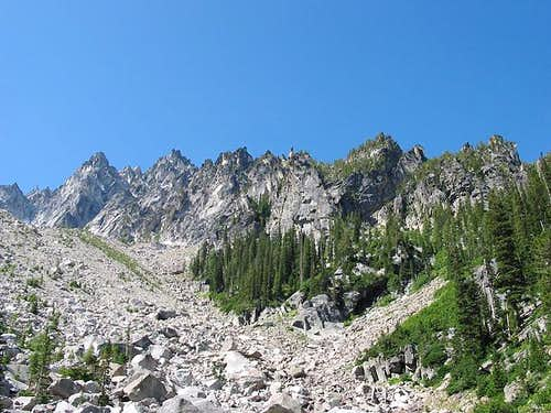 Colchuck Peak is one of the...