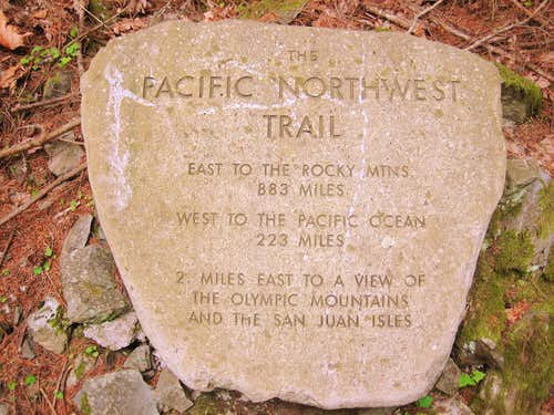 Pacific Northwest Trail Trailhead