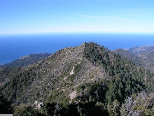 Ridge over to Twin Peak from...