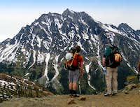 Mount Stuart from Long's Pass