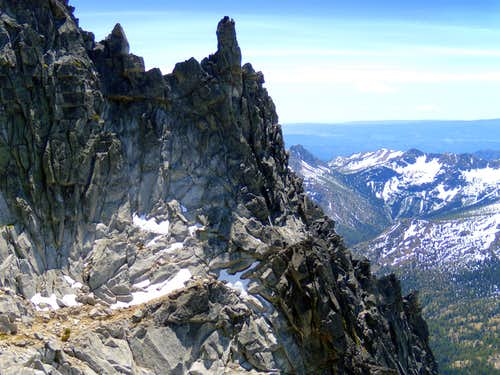 On West Ridge-Mt. Stuart