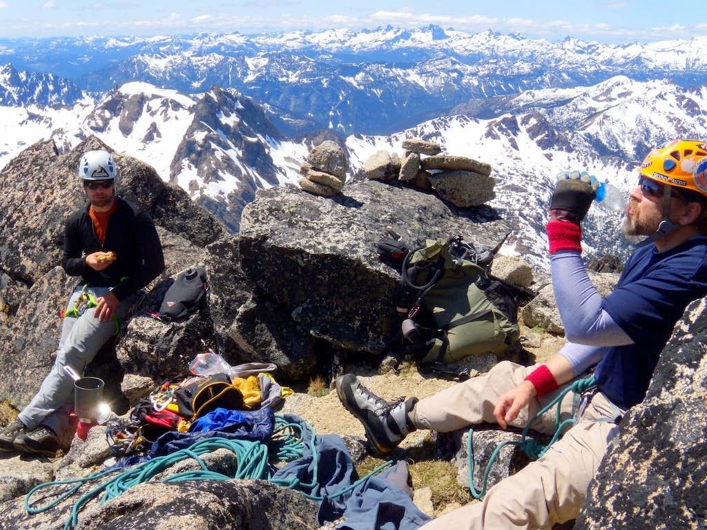 Break on the West Ridge-Mt. Stuart