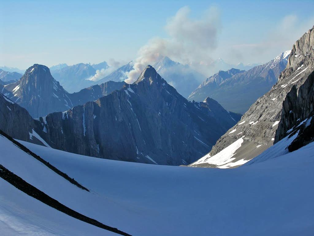 From the French Glacier