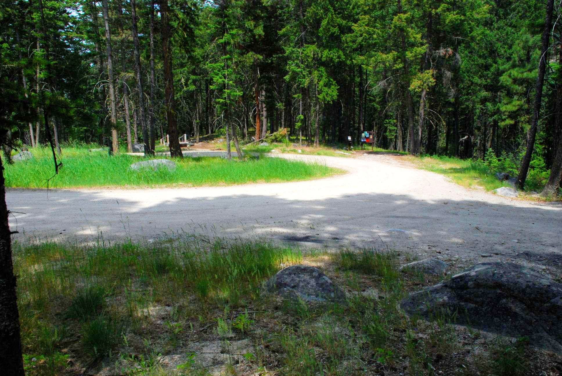 Sawtooth Creek Trailhead