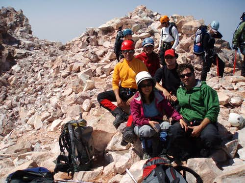 Our team on the summit!