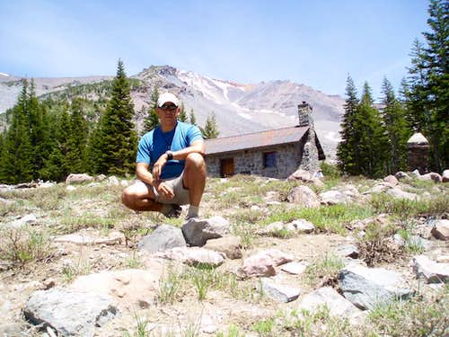 The Sierra Club cabin at Horse Camp.