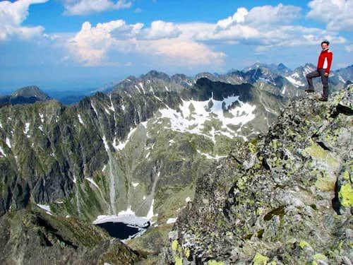 on Krivan peak