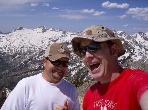 11,000 foot summits make me happy splattski