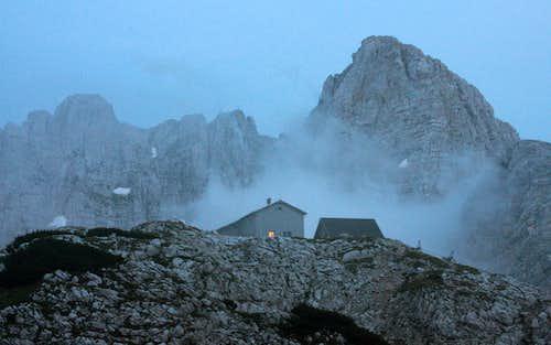 Warm hut