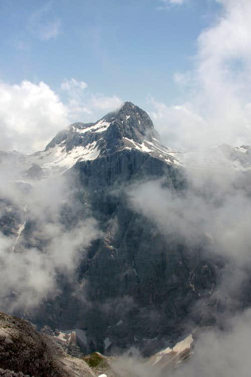 Triglav-in the clouds