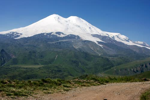 Mt. Elbrus -Baksan valley