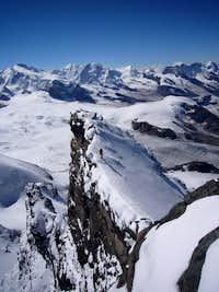 Rimpfischhorn pre-summit