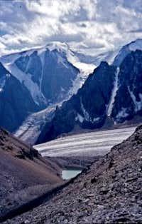 Bolshoi Aktru Glacier