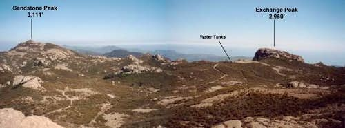 Sandstone Peak and Exchange...