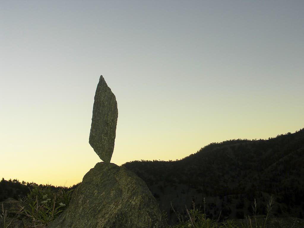 Balanced Rock on Register Ridge