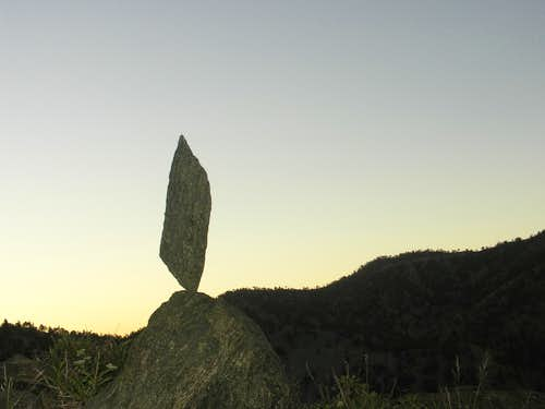 Balanced Rock on Register Ridge