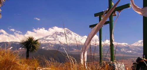 On top of El Cerro in the...