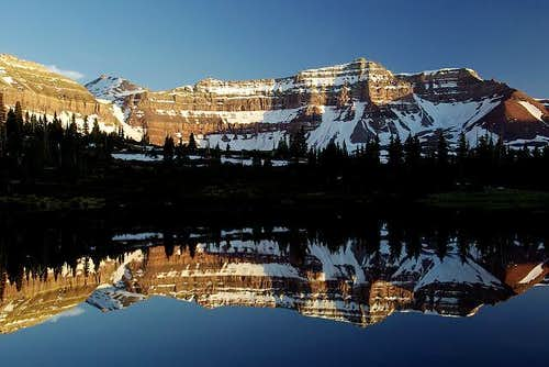 Kings Peak Reflection