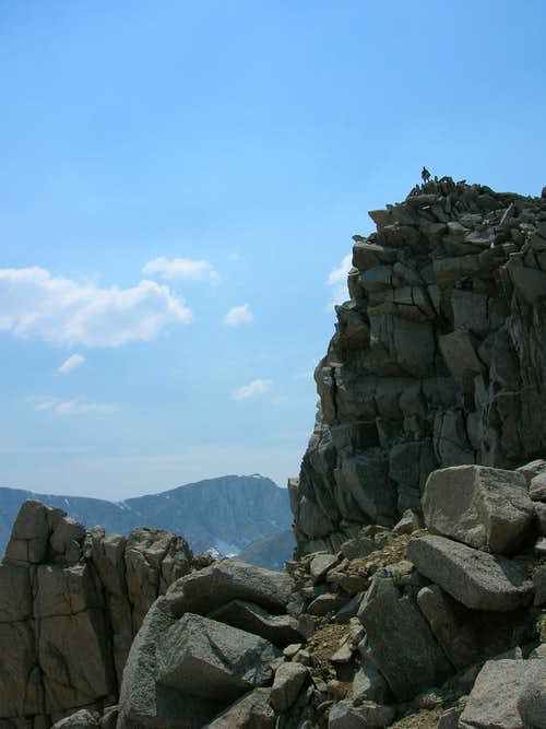 Summit Of Muriel Peak