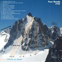 Tour Ronde north face
