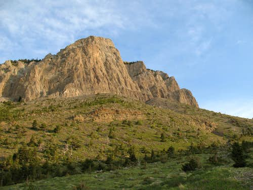 Cliffs of Choteau Mountain