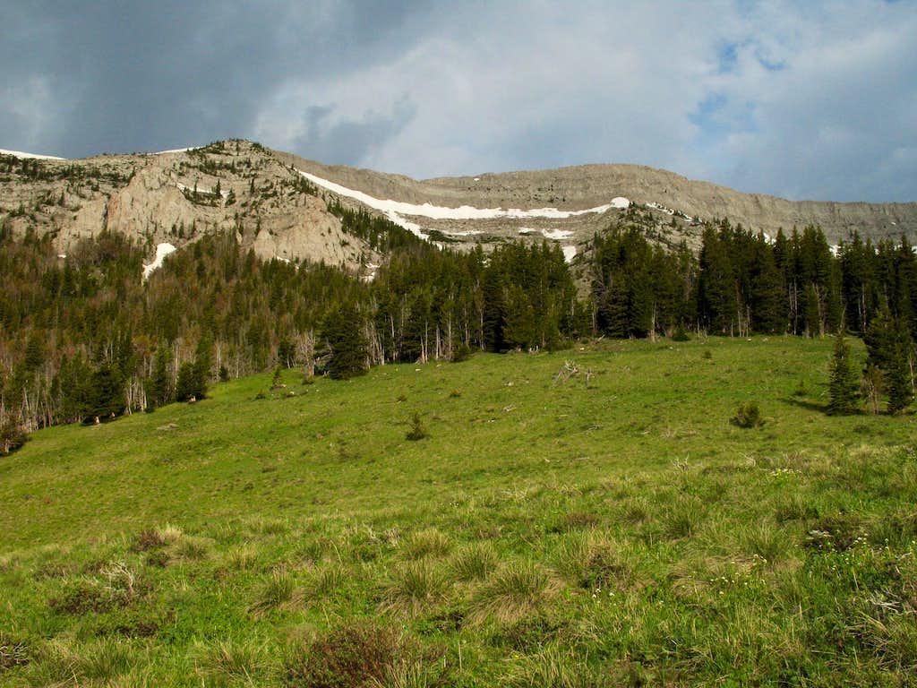 Choteau Mountain-- Summit Ridge