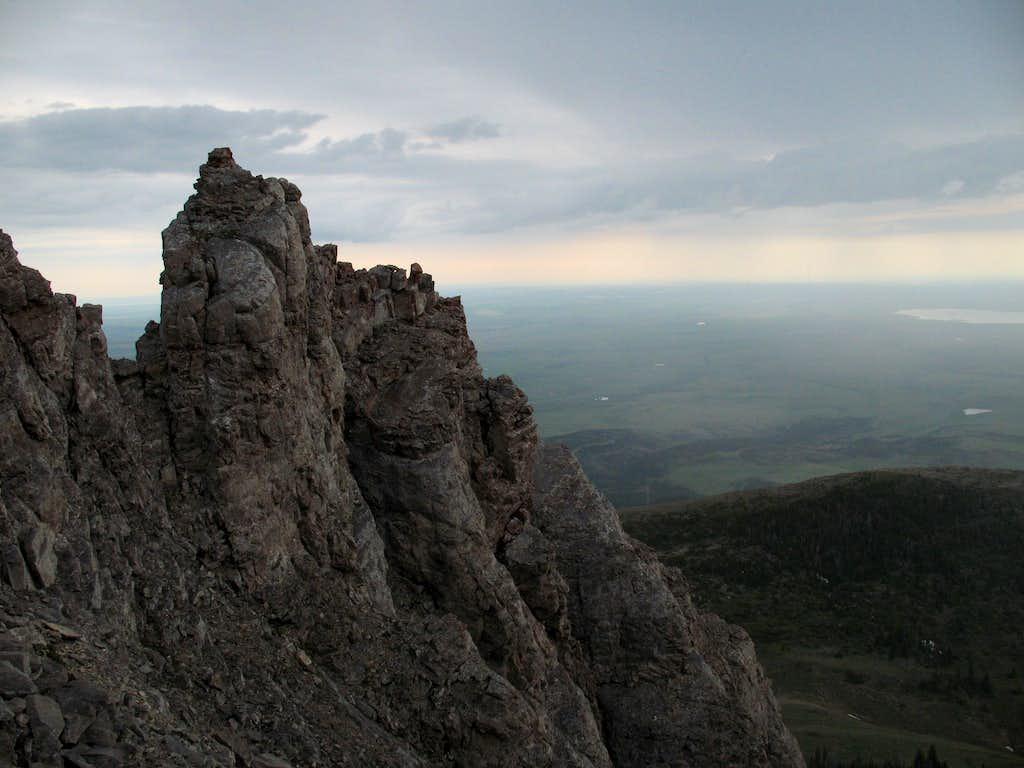 Pinnacle and Plains
