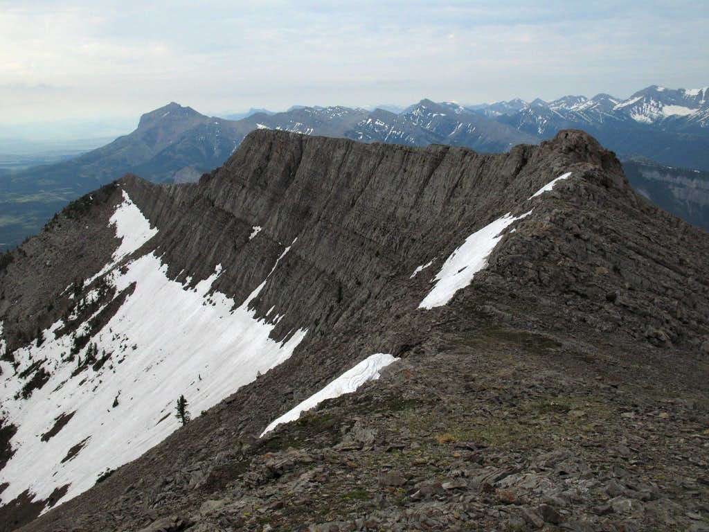 Summit View-- South