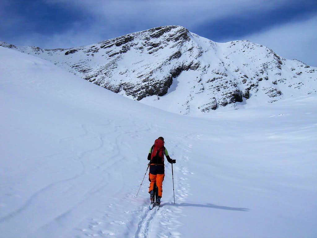 Ascent to Wildgärst 2890m