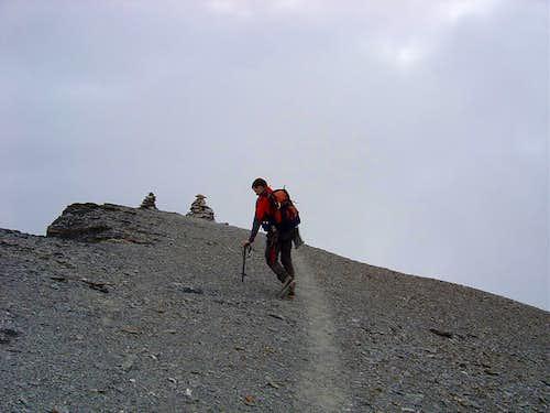 Summit of Piz Dolf 3028m