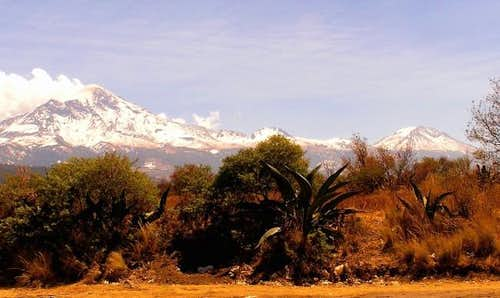 Orizaba and Sierra Negra from...
